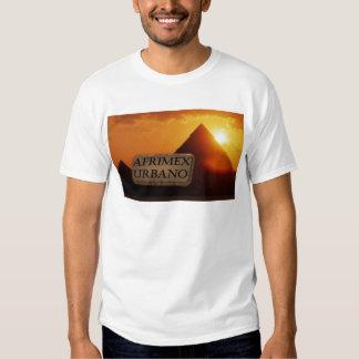 AfriMex Urbano Pyramid Sunrise Series T Shirt