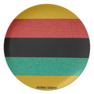 AfriMex Urbano RGB With Gold Stone Plate