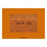 AfriMex Urbano Thank You Card
