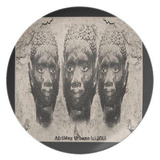 AfriMex Urbano The Guardian Plate