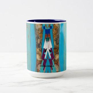 AfriMex Urbano Turquoise Mug