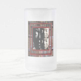 AfriMex Urbano Woman With Books Mug