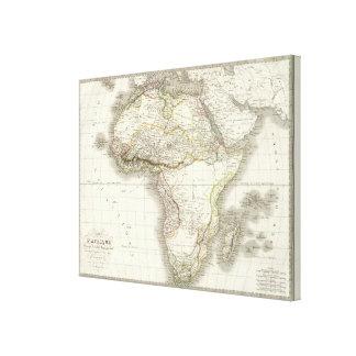 Afrique - Africa Canvas Print
