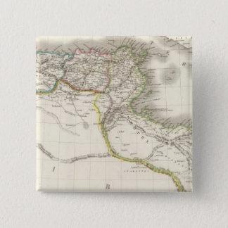 Afrique Propre - Africa Atlas Map Pinback Button