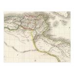 Afrique Propre - mapa del atlas de África Tarjeta Postal