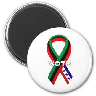 AfriRibbon-Vote 2 Inch Round Magnet
