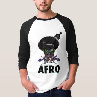 Afro Alien Feel The outer Earth Funk T-Shirt
