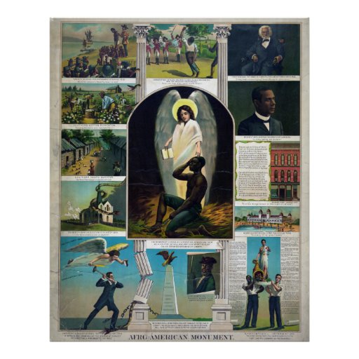 Afro-American Monument, circa 1897 Poster