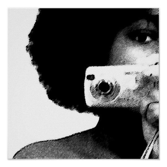 Afro Artist Poster