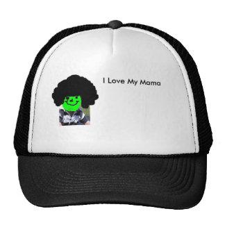afro baby, I Love My mama, I Love My Mama Trucker Hat