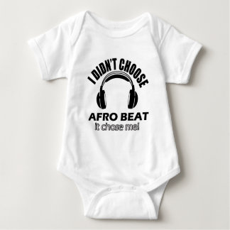 Afro beat designs baby bodysuit
