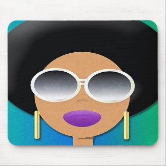 Afro Beauty Mousepad
