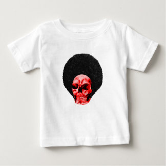Afro Black Red Skull Example The MUSEUM Zazzle Gif Baby T-Shirt