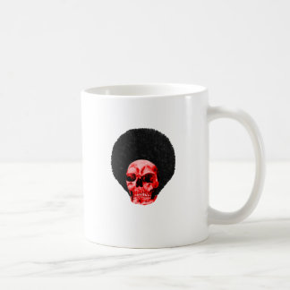 Afro Black Red Skull Example The MUSEUM Zazzle Gif Coffee Mug
