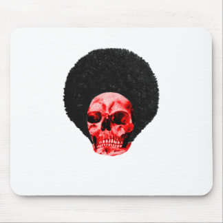 Afro Black Red Skull Example The MUSEUM Zazzle Gif Mouse Pad