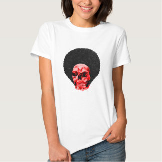 Afro Black Red Skull Example The MUSEUM Zazzle Gif T-shirt
