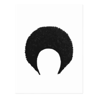 Afro Black The MUSEUM Zazzle Gifts Postcard