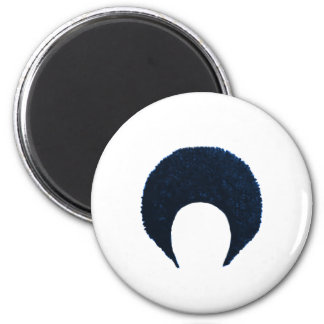 Afro Blue The MUSEUM Zazzle Gifts Refrigerator Magnet