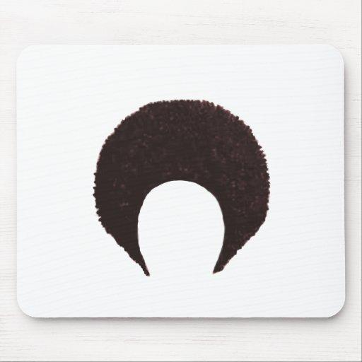 Afro Brown los regalos de Zazzle del MUSEO Mouse Pad