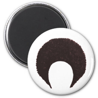 Afro Brown The MUSEUM Zazzle Gifts Fridge Magnets