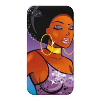 Afro-centric - iPhone 4 Case