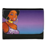 Afro-centric Leather Wallet