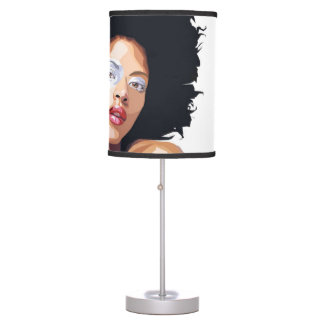 Afro-centric Table Lamp