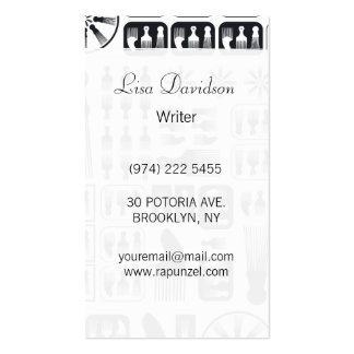 afro Comb  NEW Black.ai Business Cards