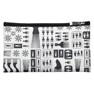 afro Comb  NEW Black.ai Cosmetic Bag