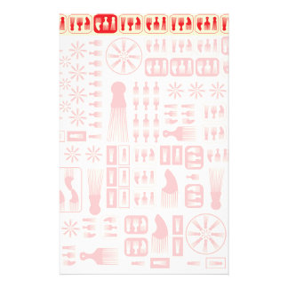 afro Comb  NEW RED.ai Stationery