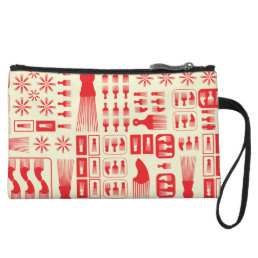 afro Comb  NEW RED.ai Wristlet