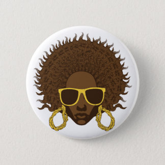 Afro Cool Button