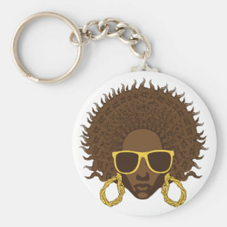 Afro Cool Keychain