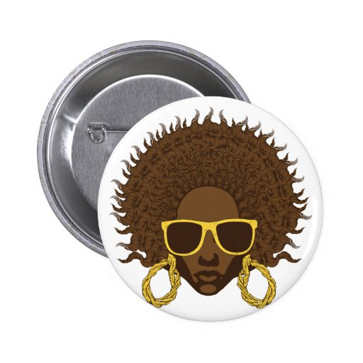 Afro Cool Pin