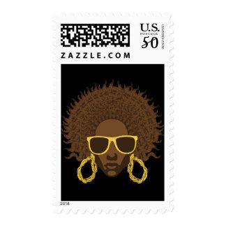 Afro Cool Postage