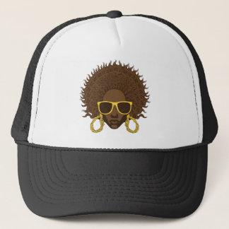 Afro Cool Trucker Hat