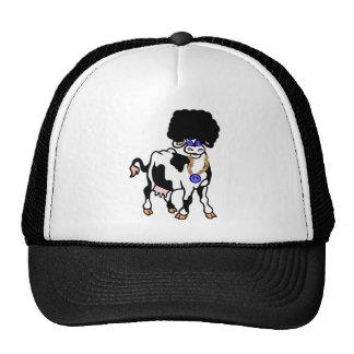 Afro Cow Trucker Hat