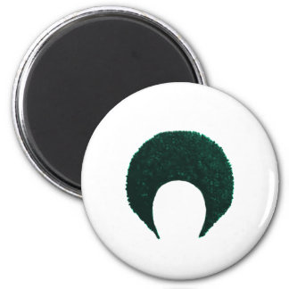 Afro Cyan The MUSEUM Zazzle Gifts Fridge Magnets
