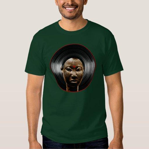 Afro del vinilo remera