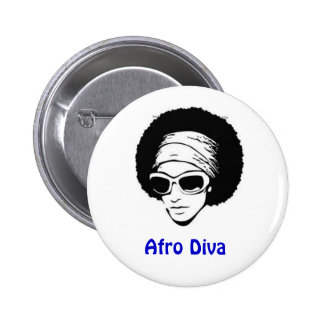 Afro Diva Pin