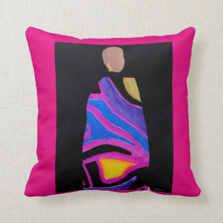 Afro Diva Pillow by Alicia L. McDaniel