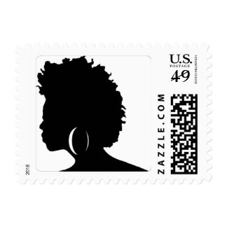 Afro Diva Stamps