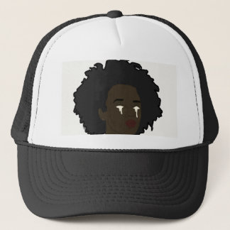 Afro Drip Trucker Hat