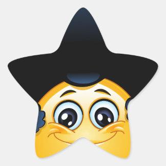 afro emoji star sticker