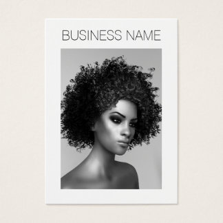 Afro Fashion Business Card