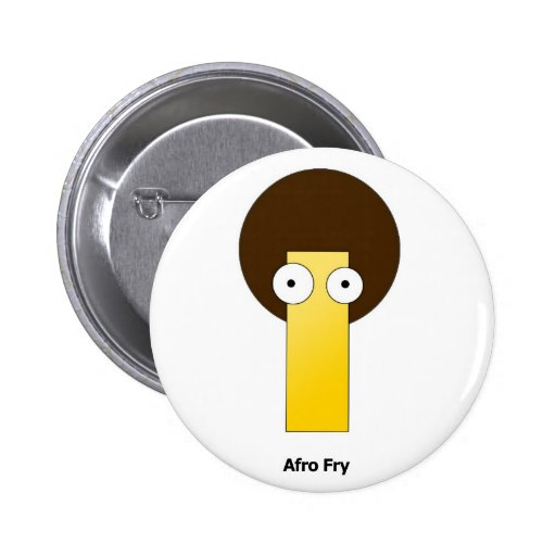 Afro Fry Buttons