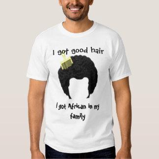 Afro Good Hair Tee Shirt