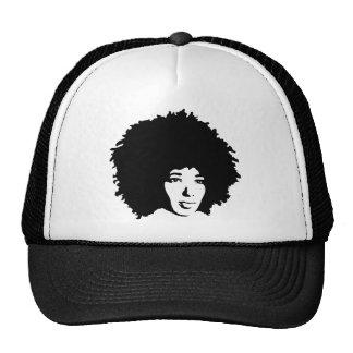 Afro Hair Trucker Hat