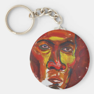Afro Keychain