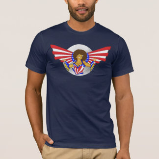 Afro Love Angel men's T-Shirt